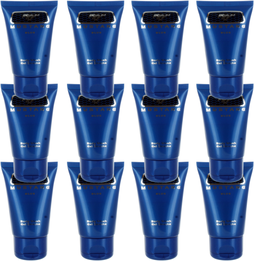 Ford Mustang Blue (M) Hair & Body Wash 1.7oz - 12PK
