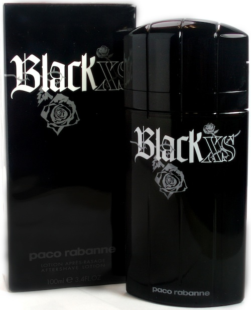 xs black by paco rabanne for men aftershave lotion 3 4 oz. Black Bedroom Furniture Sets. Home Design Ideas