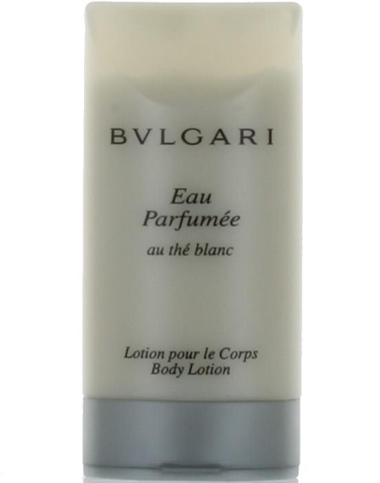 eau parfumee au the blanc by bvlgari for women body lotion. Black Bedroom Furniture Sets. Home Design Ideas