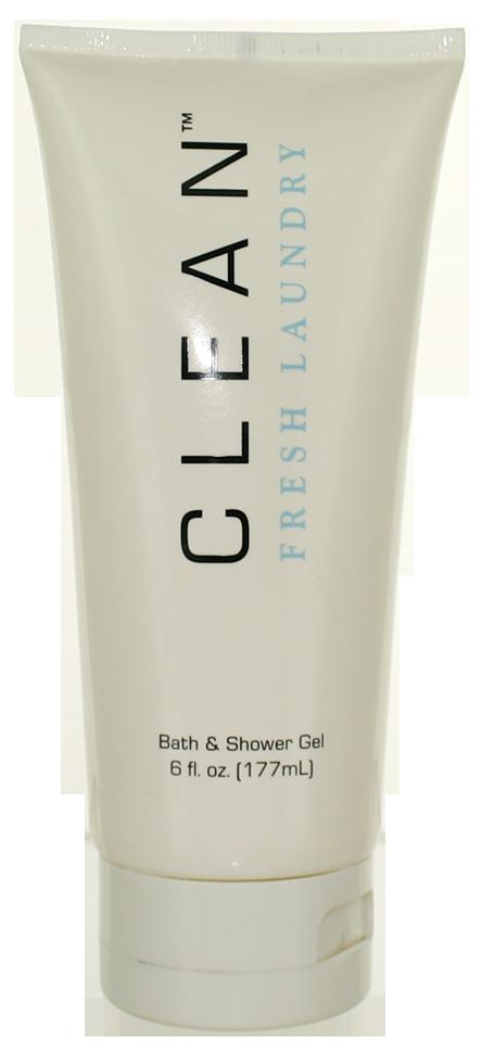 Clean Fresh Laundry (W) Shower Gel 6oz