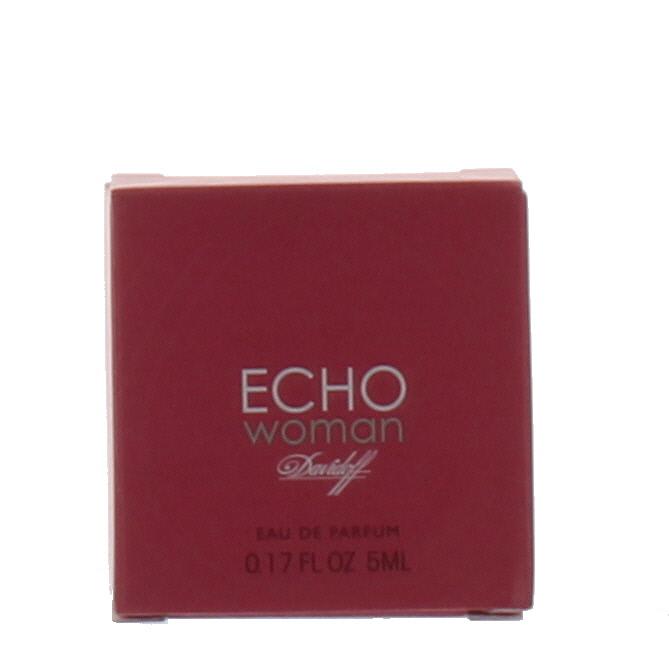 davidoff echo by davidoff for women mini edp perfume spray. Black Bedroom Furniture Sets. Home Design Ideas