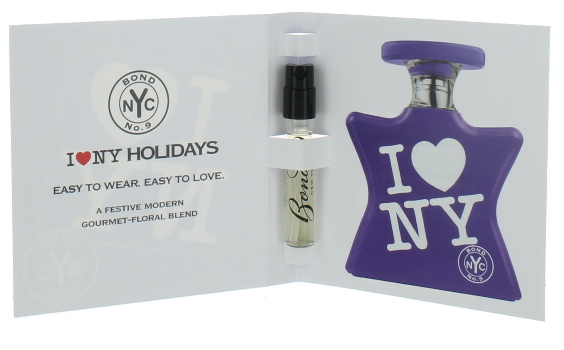 582ea85641d4d I love NY Holidays by Bond No.9 for Men and Women Mini EDP Vial 0.06 oz.
