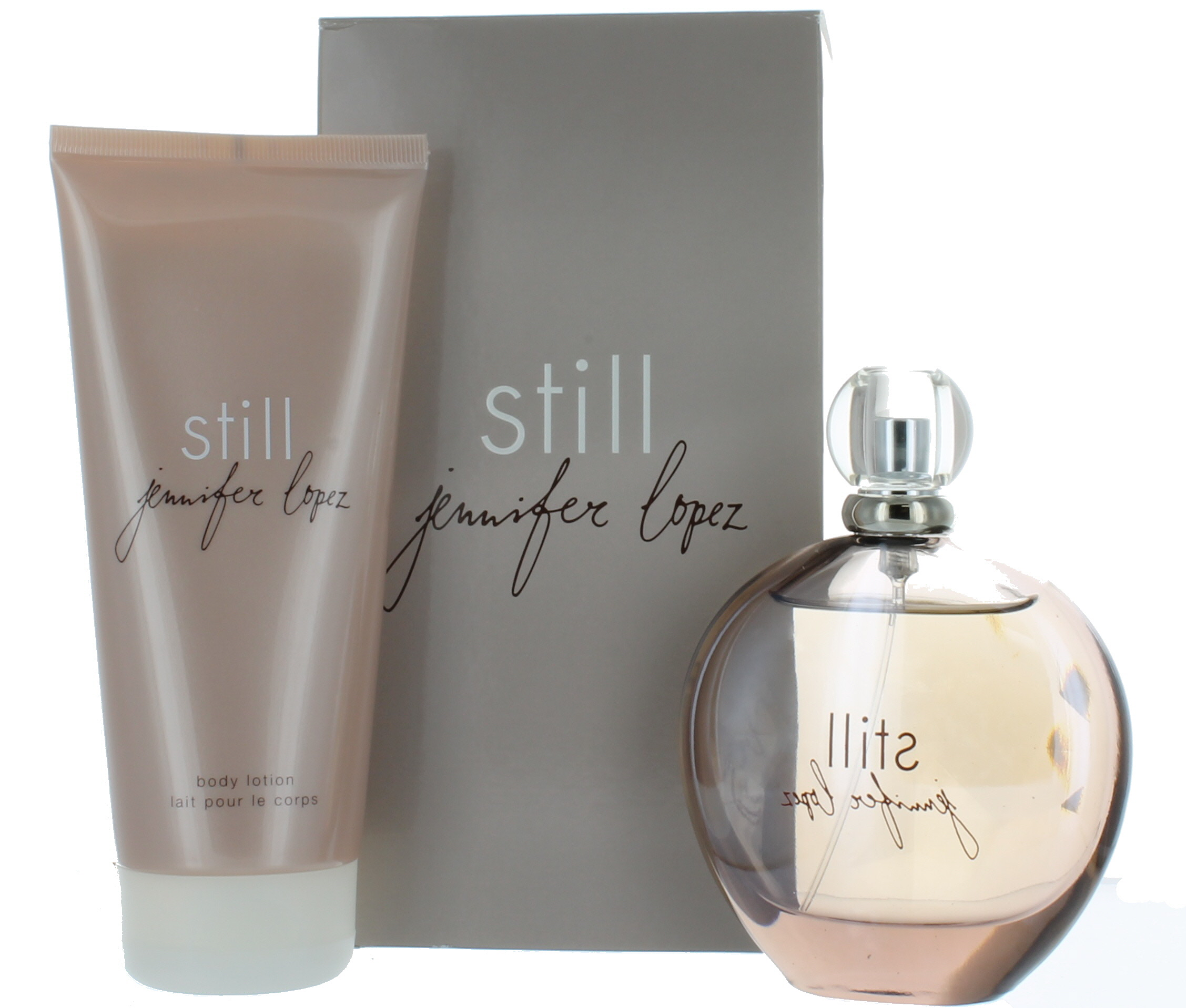 Still by jennifer lopez for women set edp perfume spray 3 for Jennifer lopez still perfume