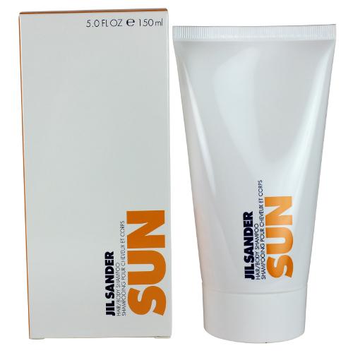 jil sander sun by jil sander for women hair body shampoo. Black Bedroom Furniture Sets. Home Design Ideas