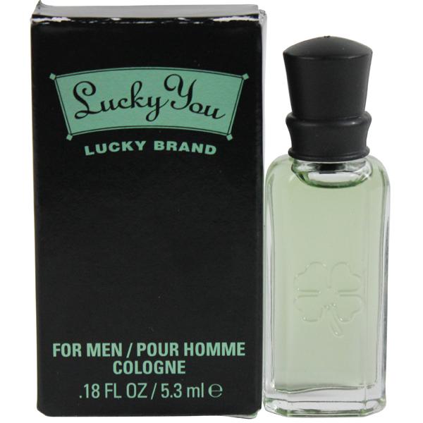 Lucky Brand Lucky You (M) Mini Cologne 0.18oz NIB