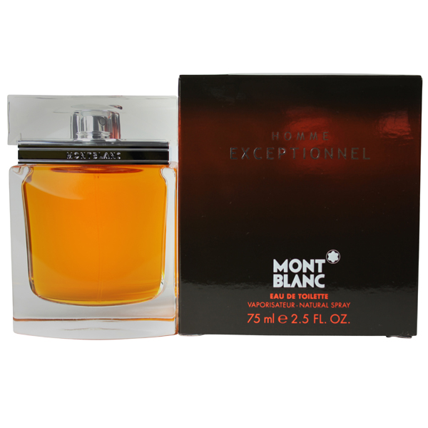 homme exceptionnel by mont blanc edt cologne spray 2 5 oz n palm perfumes