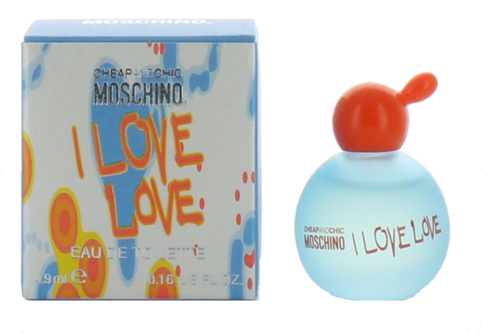 3257158f15 I love love by Moschino for Women Mini EDT Perfume Splash .16 oz ...