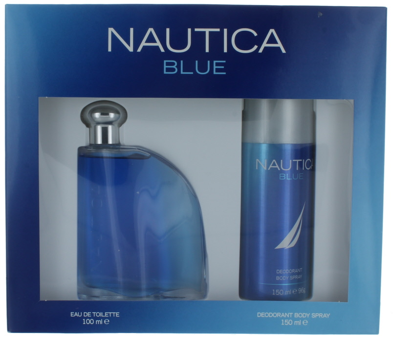 Nautica Blue by Nautica for Men Gift Set-EDT Cologne Splash-Palm ...