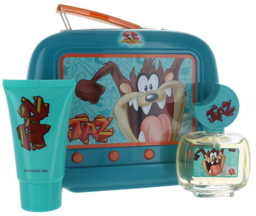 Looney Tunes Taz (U) Lunch Box: EDT 1.7oz + SG 2.55 NIB