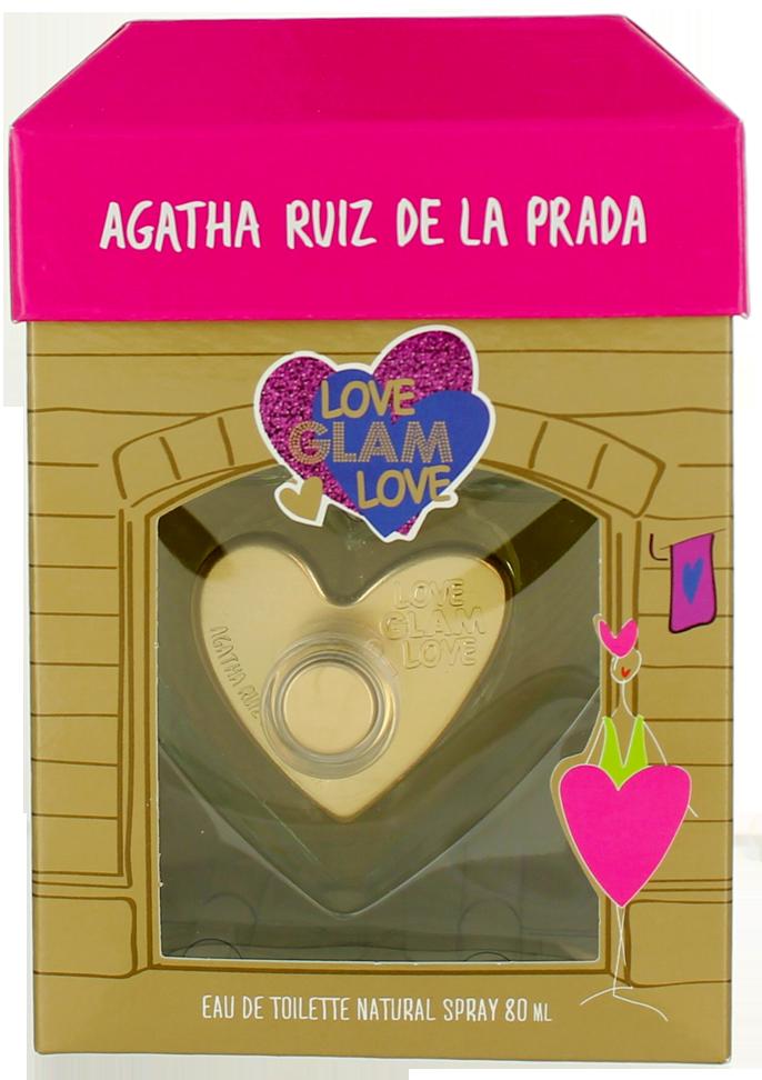 Image of Agatha Ruiz De la Prada Love Glam Love (W) EDT Spray 2.7oz