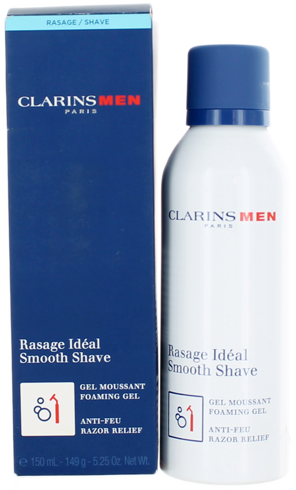 Clarins Men (M) Smooth Shave, Foaming Gel 5.25oz DB