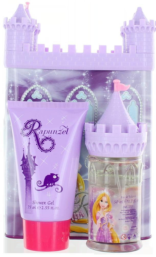 Rapunzel Castel Series By Disney For Women SET: EDT 1.7oz +
