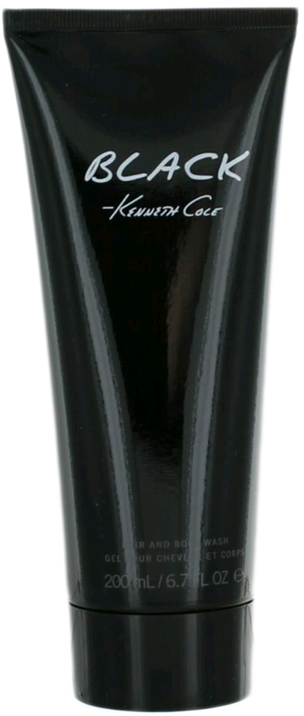 Kenneth Cole Black (M) Shower Gel 6.7oz