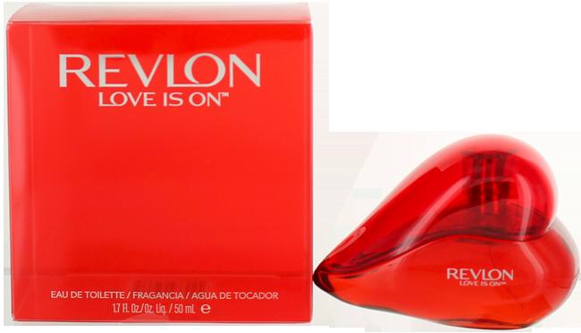 Revlon Love Is On (W) EDT Spray 1.7oz NIB